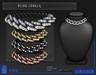 POMPOSITY - Bling Choker w/ Diamonds - BOXED (Necklace)
