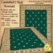 *PV* Canterbury Rug - Emerald