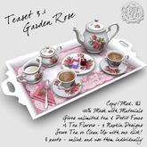 "R(S)W Tea Set 3.1 - ""Garden Rose"" Pattern"