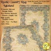 *PV* Rustic Country Rug - Lakeland