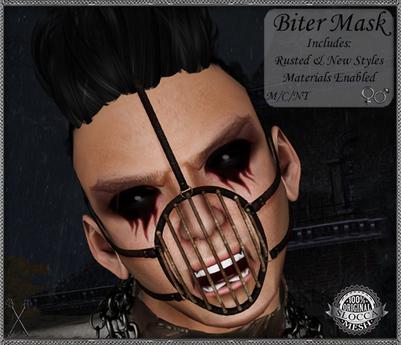 ~*S.E.*~ The Biter Mask & Harness