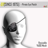 [Since 1975] - Pirate Eye Patch ***Group gift inworld ***