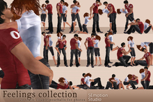 SEmotion Feelings Collection - 20 couple static poses!