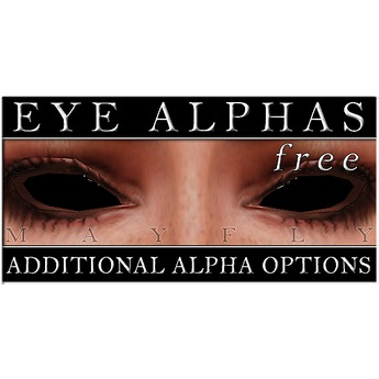 Mayfly - Luminous - Extra Eye Alpha Masks