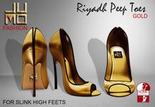 .:JUMO:. Riyadh Gold Heels