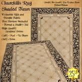 *PV* Churchills Rug - Shaded Faun