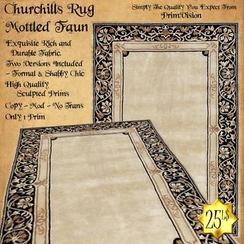 *PV* Churchills Rug - Mottled Faun