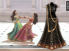Zaara : [Mesh] Chandni lehenga *kohl* (+maitreya)