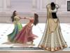 Zaara : [Mesh] Chandni lehenga *ivory gold* (+maitreya)