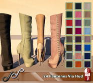 Sky - Stormy Boots 24 Pantones