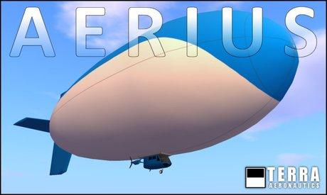 Terra Aerius Blimp CLASSICS SERIES ✈ by Cubey Terra ✈