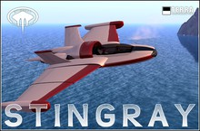 Terra Stingray 1.1 amphibious jet ✈ by Cubey Terra ✈