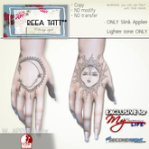 .::ReeA Tattoo::. Exclusive for MyVirtualLife [Slink Hands]