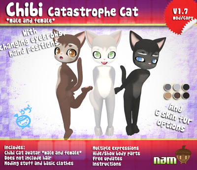 *NAM* Chibi Catastrophe Cat V2