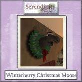 Serendipity Designs - Santa Moose Head  (boxed)