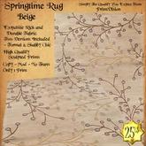 *PV* Springtime Rug - Beige