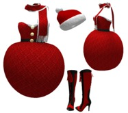 MISS CHRISTMAS - FANTASY OUTFIT