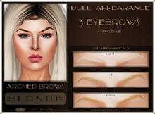 .:DA:. Eyebrow Arched Blonde