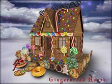 Boudoir Christmas -Gingerbread House