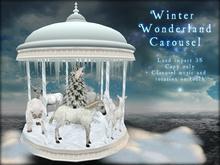 Boudoir Christmas -Winter Wonderland Carousel