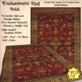 *PV* Enchantment Rug - Brick