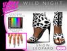 *FREE* VaVaVOOM ! - Wild Night Heels > Snow Leopard