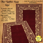 *PV* The Naples Rug - Red