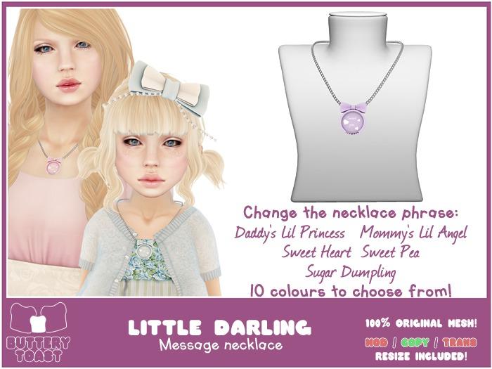 -Buttery Toast- Little Darling - Purple