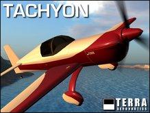 Terra Tachyon racing/stunt plane ✈ CLASSICS SERIES by Cubey Terra ✈