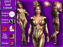 [TKS] Complete - 2015 Gold Catsuit