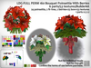 LDG-FULL PERM 160 Bouquet Poinsettia With Berries/6 parts/53 textures/Builderkit