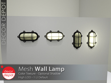 [DD] - FULL PERM Wall Lamp