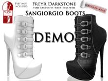 Freyr Darkstone Sangiorgio Boots DEMO