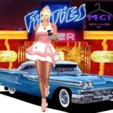 Mystic 50's Car Hop Waitress