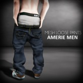 *DEMO*AMERIE M - Mesh Loose Pants