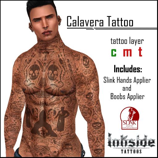 Inkside Tattoos - Calavera Tattoo