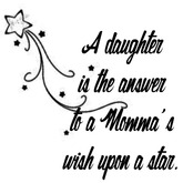 Daughter Star Wall Decal