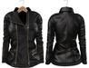 Blueberry Mins - Leather Zipped Jackets (Belleza Venus Compatible) Black