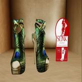 Peacock Heels Sapphire
