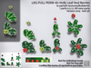 LDG-FULL PERM 161 Holly Leaf And Berries/10 parts/6 textures/Builderkit