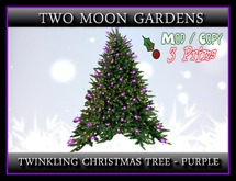 TMG - Twinkling Christmas Tree - Purple*
