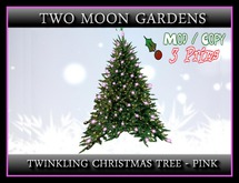 Twinkling Christmas Tree - Pink*