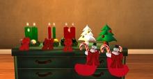 Christmas Decoration set - Mesh クリスマスの飾り
