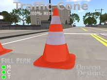 Traffic Cone (Mesh) Full Perm
