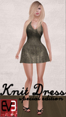 Special Edition Winter Knit Dresses for Eve Mesh Avatars (S&P) (3 Colors)