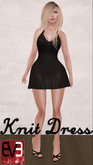 Knit Dress Set for Eve Mesh Avatars (Slim & Pulpy) (7 Colors!)