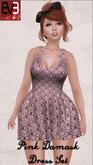 Pink Damask Set for Eve Body (Slim & Pulpy)