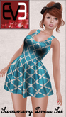 Summery Dress Set for Eve Body (Slim & Pulpy)