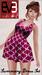 Raspberry summery dress ad 001