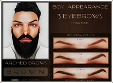 .:BA:. Eyebrow Arched Brown